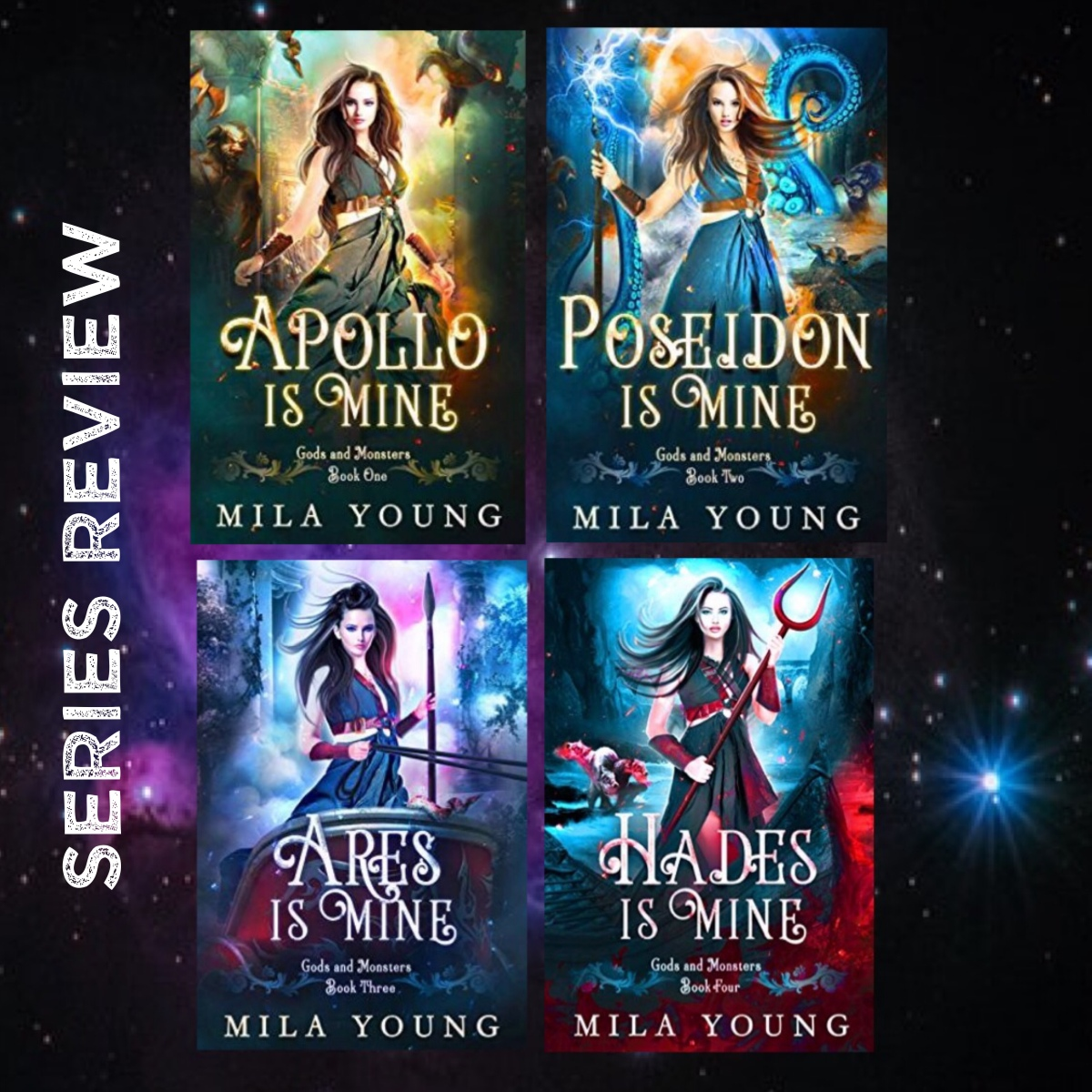 Series Review Gods And Monsters By Mila Young